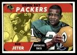 1968 Topps #52  Bob Jeter  Front Thumbnail