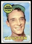 1969 Topps #119  Doug Rader  Front Thumbnail