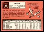 1969 Topps #546  Jim Nash  Back Thumbnail