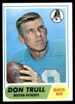 1968 Topps #176  Don Trull  Front Thumbnail