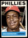 1964 Topps #208  Wes Covington  Front Thumbnail