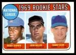 1969 Topps #641   -  Bobby Darwin / Tommy Dean / John Miller NL Rookies Front Thumbnail