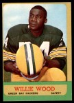 1963 Topps #95  Willie Wood  Front Thumbnail