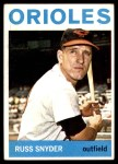 1964 Topps #126  Russ Snyder  Front Thumbnail