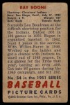 1951 Bowman #54  Ray Boone  Back Thumbnail