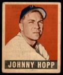 1949 Leaf #139  Johnny Hopp  Front Thumbnail
