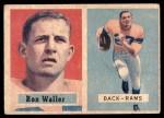 1957 Topps #82  Ron Waller  Front Thumbnail