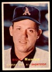 1957 Topps #207  Billy Hunter  Front Thumbnail