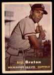 1957 Topps #48  Billy Bruton  Front Thumbnail