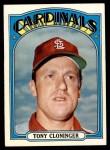 1972 Topps #779  Tony Cloninger  Front Thumbnail