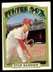 1972 Topps #662  Stan Bahnsen  Front Thumbnail