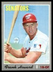1970 Topps #550  Frank Howard  Front Thumbnail