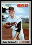 1970 Topps #601  Pete Richert  Front Thumbnail