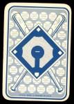1968 Topps Game #1   Matty Alou   Back Thumbnail