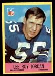 1967 Philadelphia #54  Lee Roy Jordan  Front Thumbnail