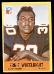 1967 Philadelphia #11  Ernie Wheelwright  Front Thumbnail