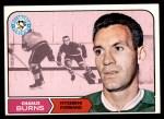 1968 Topps #108  Charlie Burns  Front Thumbnail
