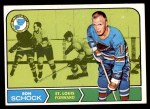 1968 Topps #118  Ron Schock  Front Thumbnail