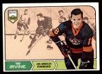 1968 Topps #39  Ted Irvine  Front Thumbnail