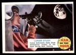 1969 Topps Man on the Moon #22 A  Lunar Study Front Thumbnail