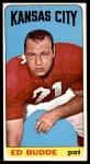 1965 Topps #95  Ed Budde  Front Thumbnail