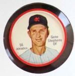 1962 Salada Coins #56  Gene Stephens  Front Thumbnail