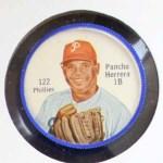 1962 Salada Coins #122  Pancho Herrera  Front Thumbnail