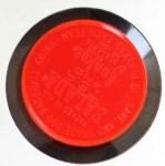 1962 Salada Coins #136  Ron Santo  Back Thumbnail