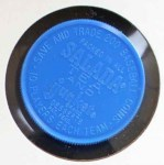 1962 Salada Coins #76 RED Ken Hunt  Back Thumbnail