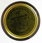1964 Topps Coins #72  Bobby Richardson  Back Thumbnail