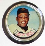 1964 Topps Coins #80   Willie Mays   Front Thumbnail