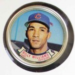1964 Topps Coins #44   Billy Williams   Front Thumbnail