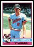 1976 Topps #111  Danny Thompson  Front Thumbnail