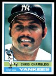 1976 Topps #65  Chris Chambliss  Front Thumbnail