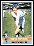 1976 Topps #541  Steve Mingori  Front Thumbnail