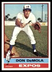1976 Topps #571  Don DeMola  Front Thumbnail