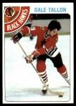 1978 Topps #146  Dale Tallon  Front Thumbnail