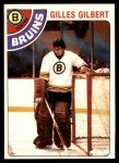 1978 Topps #95  Gilles Gilbert  Front Thumbnail