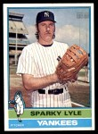 1976 Topps #545  Sparky Lyle  Front Thumbnail