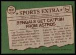 1976 Topps Traded #428 T Jim Crawford  Back Thumbnail