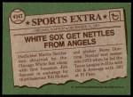 1976 Topps Traded #434 T Morris Nettles  Back Thumbnail