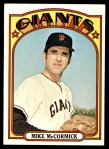 1972 Topps #682  Mike McCormick  Front Thumbnail