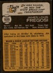 1973 Topps #525  Jim Fregosi  Back Thumbnail