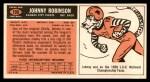 1965 Topps #109  Johnny Robinson  Back Thumbnail