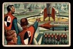 1951 Bowman Jets Rockets and Spacemen #1   Spacemen Inspect Rocket Center Front Thumbnail