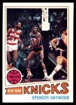 1977 Topps #88  Spencer Haywood  Front Thumbnail