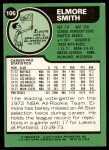 1977 Topps #106  Elmore Smith  Back Thumbnail