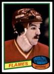 1980 Topps #157  Paul Reinhart  Front Thumbnail