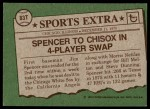 1976 Topps Traded #83 T Jim Spencer  Back Thumbnail