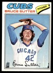 1977 Topps #144  Bruce Sutter  Front Thumbnail